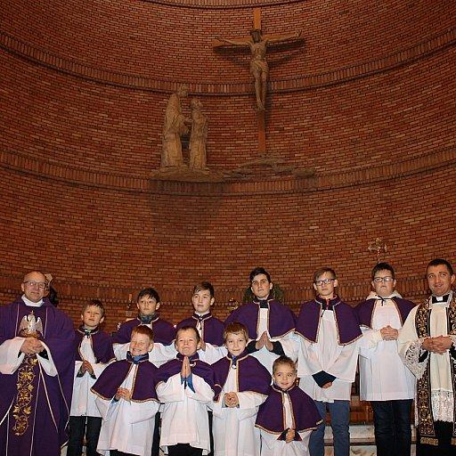 Matka Kościoła w Tczewie ma 10 nowych ministrantów
