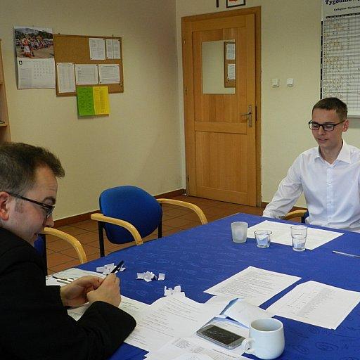 Egzamin kandydatów na ceremoniarzy