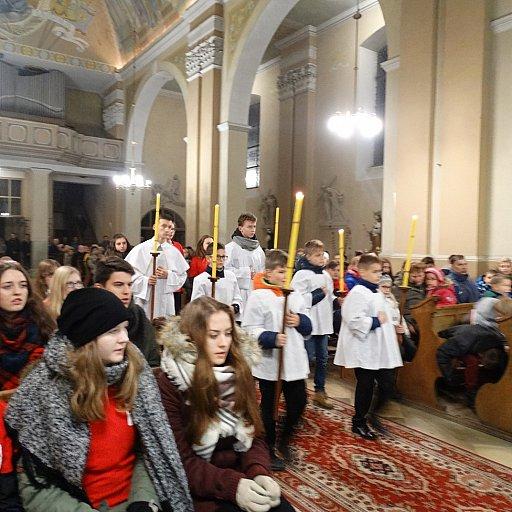 Nowi ministranci w parafii Pinczyn